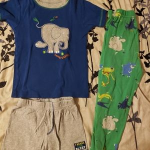 I'm a big deal Elephant 3 pc pajamas